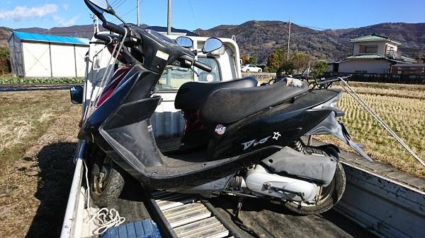 足柄上郡松田町バイク廃車