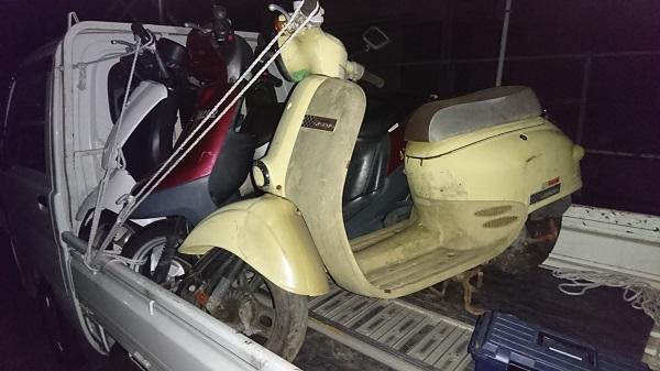 藤沢市バイク廃車、ジョルノ