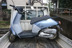 藤沢市バイク引取