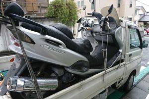 藤沢市バイク廃車