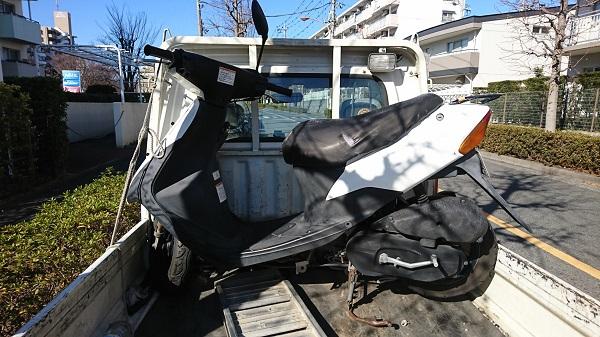 藤沢市バイク買取、レッツ2