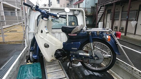 藤沢市バイク買取、プレスカブ
