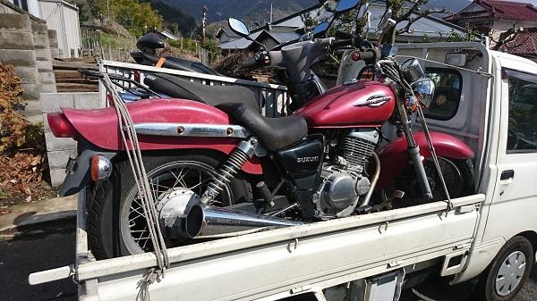 山北町バイク買取、廃車